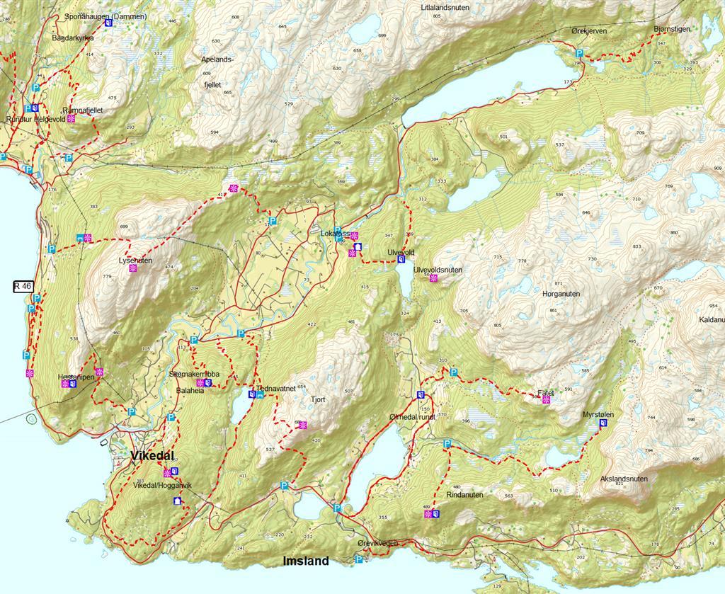 vikedal kart Vikedal   Vindafjord kommune vikedal kart